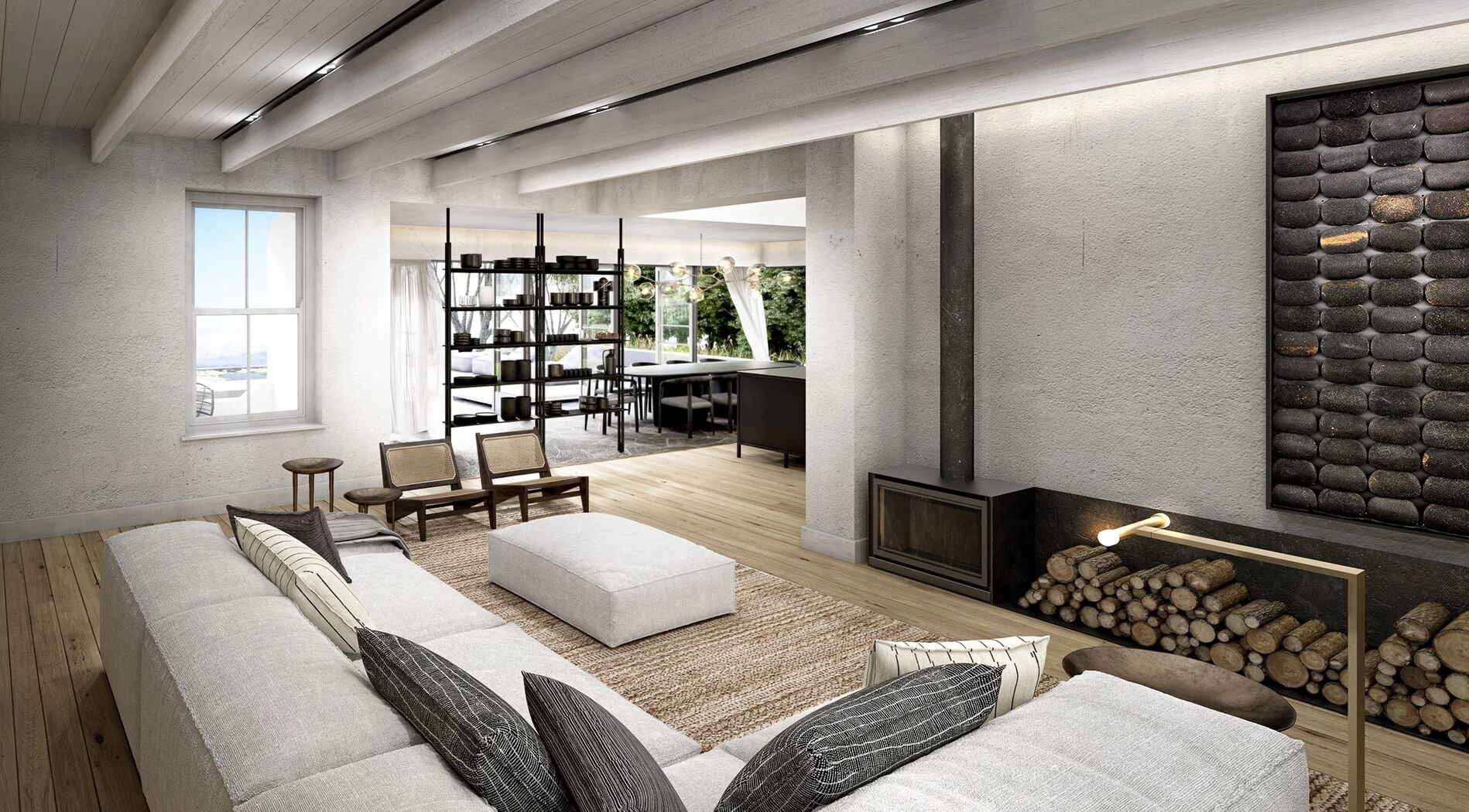 Langfontein Living Room // Western Cape, South Africa