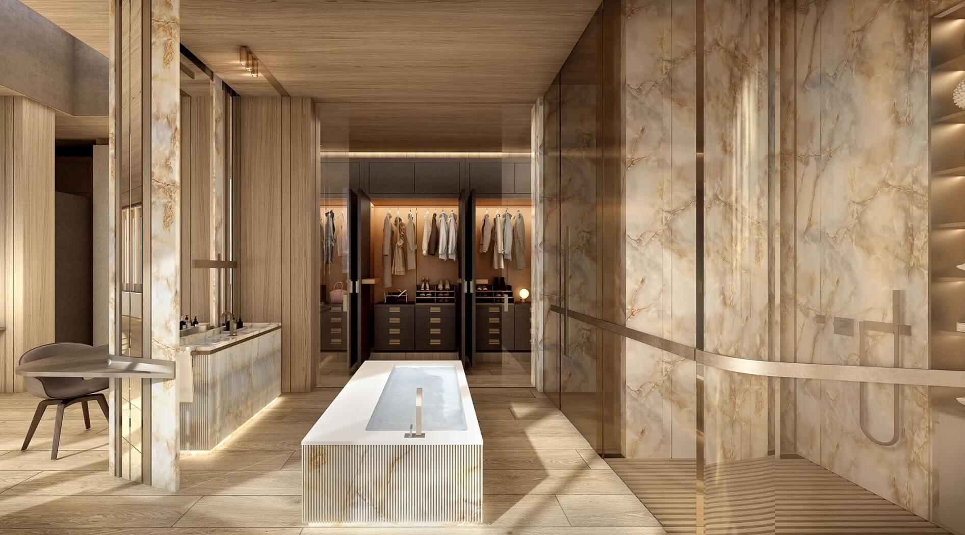 Villa Cortile // Marbella, Spain Master En-Suite
