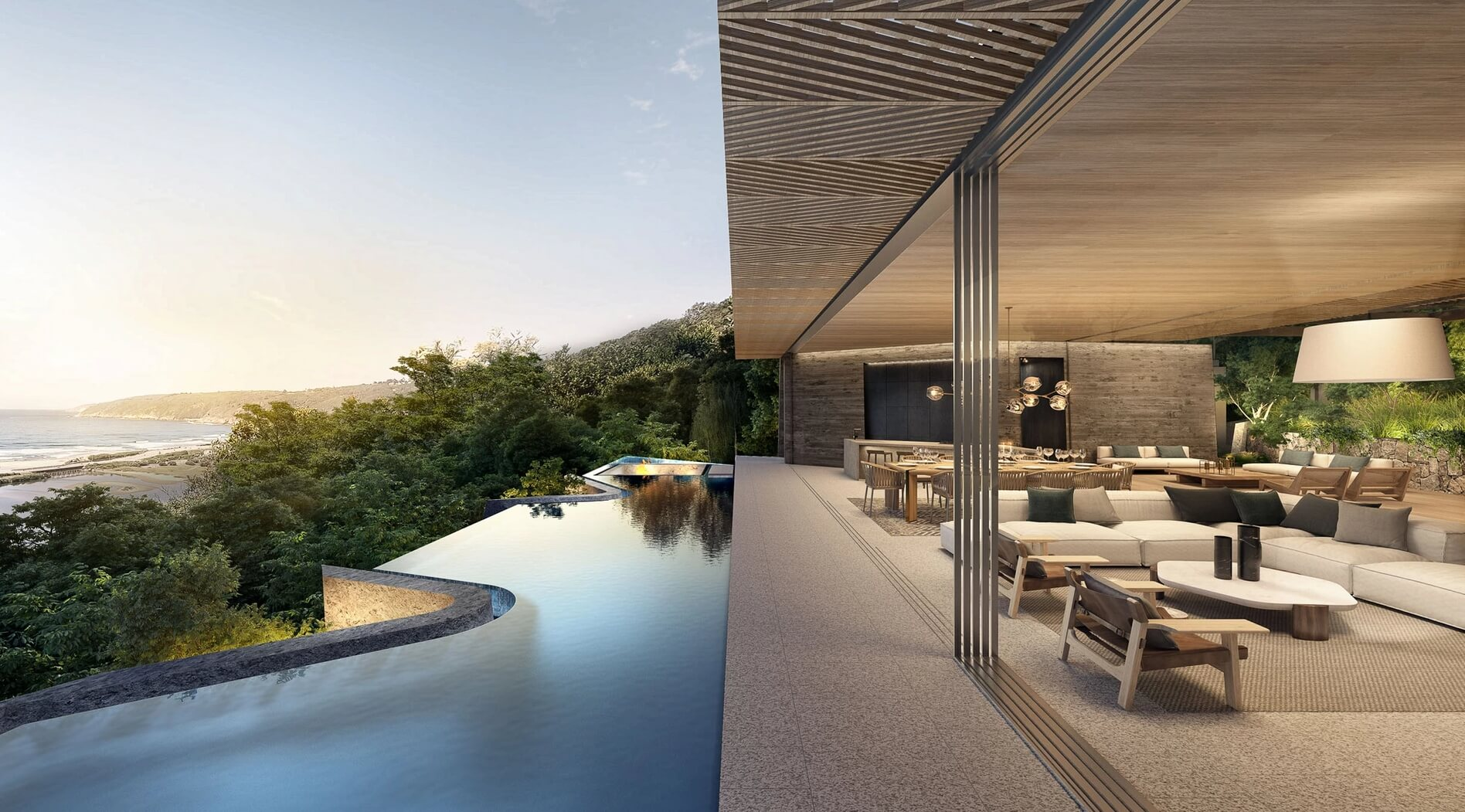 Wilderness // South Africa Pool Terrace